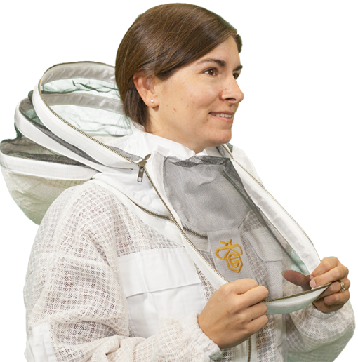 Vented Jacket with Easy Access Veil | Guardian Bee Apparel