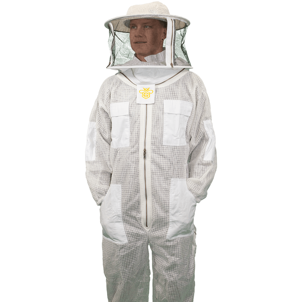 Vented Suit with Round Veil   Guardian Bee Apparel
