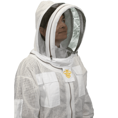 Vented Jacket w/Pro Fit Access Veil | Guardian Bee Apparel