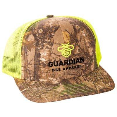 Guardian Bee Apparel Hat | Camo, Yellow